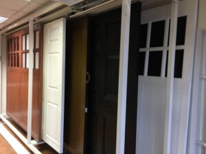 A selection of garage doors