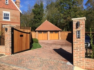 Wide Shot of Novoferm Timber Leicester Doors