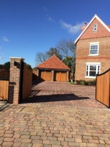 Timber Leicester Doors in Light Oak
