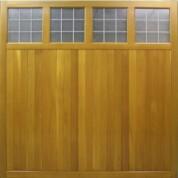 Tuxford1- Cedar Garage Doors