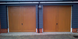 Shop wooden garage doors