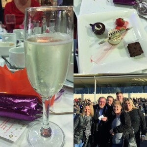 Champagne and Dessert at Lingfield Races