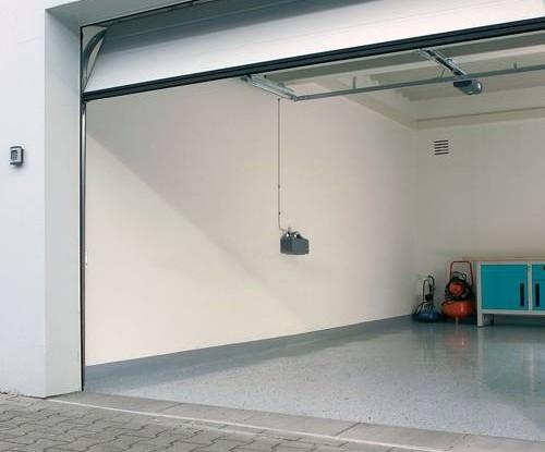 Automated Garage Doors - modern garage showing automated door open