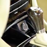 Close up of automated garage door mechanism
