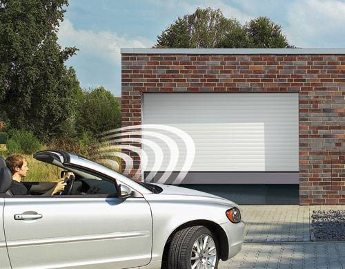 Automated garage doors