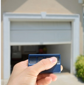 Automatic garage door remote control