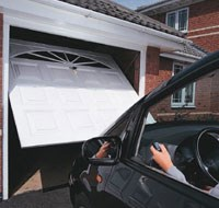 Automatic Up & Over Garage Door