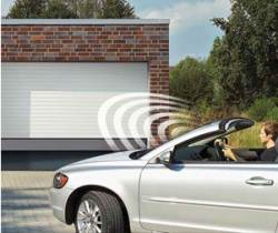 image of electric garage door
