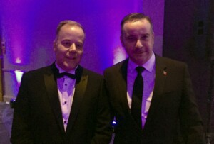 Our Managing Director and Contracts Manager Ready for Awards Night