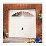 Traditional garage door