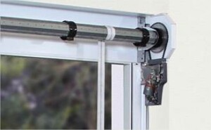 Close Up of Garage Door Hinge