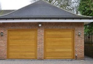 Panelled Wooden Garage Doors