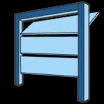 Sectional Garage Door Icon