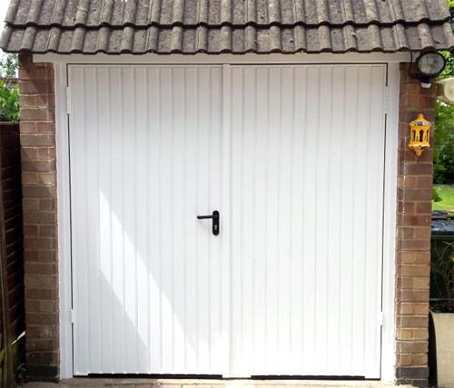 Side Hinged Garage Doors By Wessex Garage Doors
