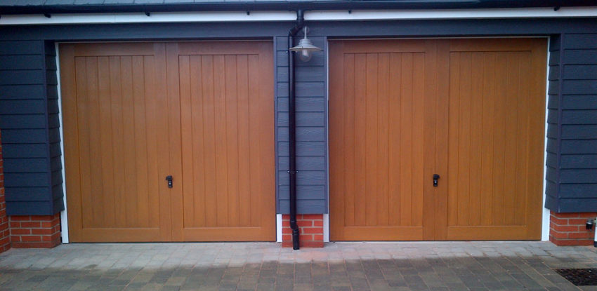 Timber Garage Doors