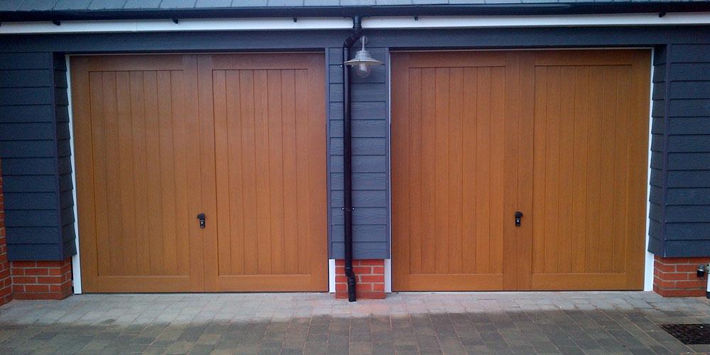 Wooden Garage Doors Surrey Based Installers Wessex